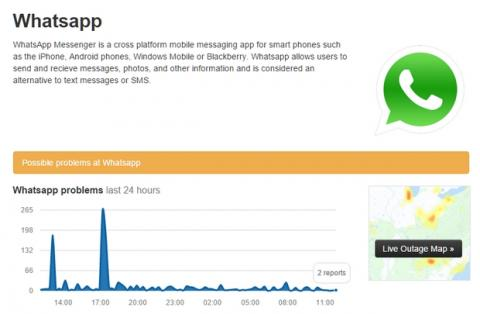 WhatsApp se cae en Nochevieja y Año Nuevo, siguen los fallos