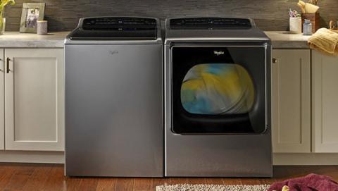 Whirlpool presenta nuevas lavadoras y secadoras inteligentes