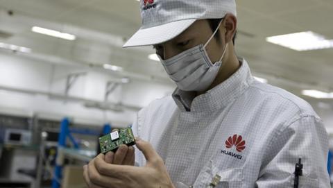 Trabajador de Huawei
