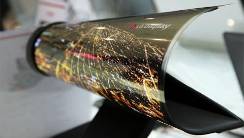 pantalla flexible, pantalla enrollable, pantalla flexible lg, pantalla lg, pantalla oled lg