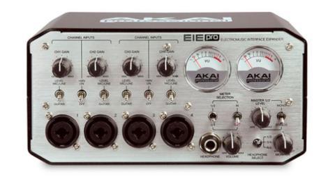 La interfaz de sonido está preparada para un uso profesional.