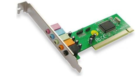 Las tarjetas de sonido más discretas o más antiguas, contarán con conexiones PCI.