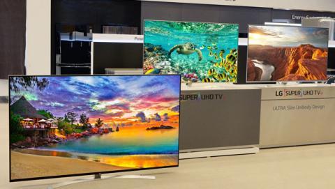 Nuevo televisor LG Super UHD 8K de 98 pulgadas
