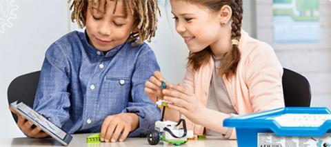 Lego WeDo kit de robótica para estudiantes