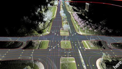 Nueva versión de HERE, el servicio de mapas de Audi, BMW y Daimler