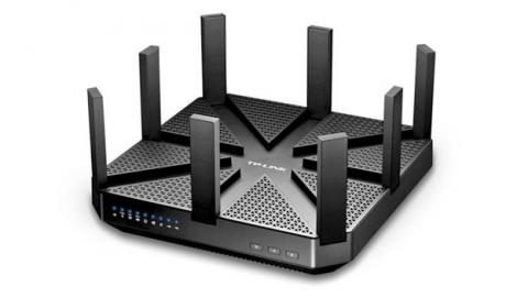 Router Wi-Fi de tplink con velocidad de 7,2 Gbps