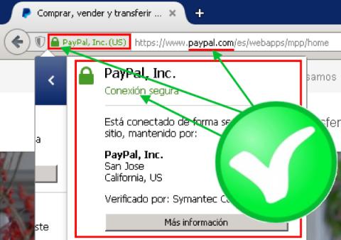 Campaña de phishing de Paypal