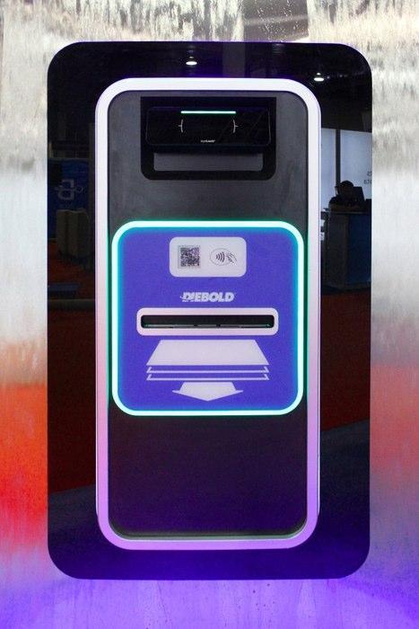 EyeLock, cajero automático con escáner de iris