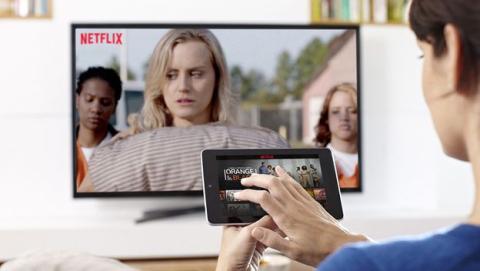 Servicio de streaming online Netflix en España