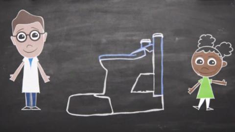 Crean un inodoro que convierte los residuos en energía