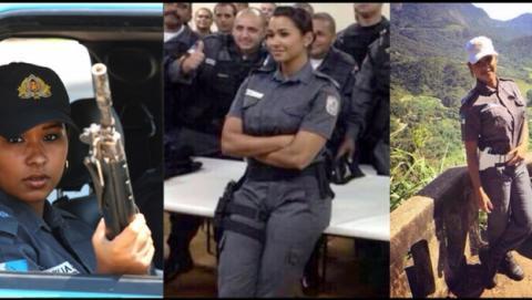 Mafiosos se vengan de mujer policía hackeando sus fotos desnuda