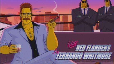 El gag del sofá de Los Simpson que homenajea las series de los 80 arrasa en redes
