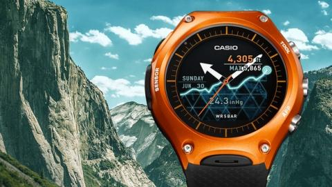 Se desvela el esperado reloj inteligente Casio Smart Outdoor Watch