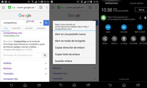 Aplicación de portapapeles para Android