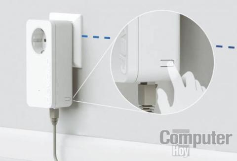 Configura la red WiFi Powerline