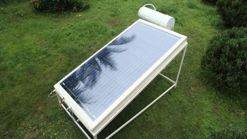 Desalinizador produce agua potable con energia solar