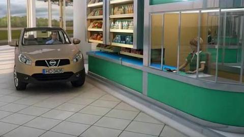 Inventor ruso presenta el supermercado del futuro