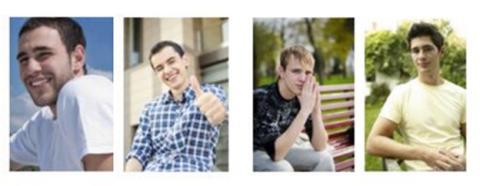 Fotos de perfil candidatos a puesto de trabajo