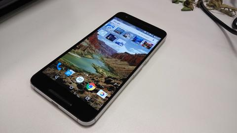 Nexus 6P pantalla