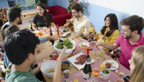 compartir comida online
