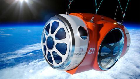 viaje al espacio, turismo espacial, experiencia en el espacio, viajar al espacio