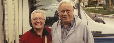 Peggy and David Bush