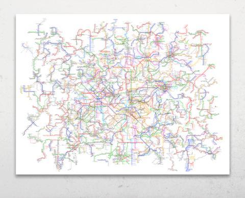 Mapa metro mundial completo