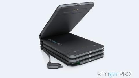 Bateria portatil de carga magnetica