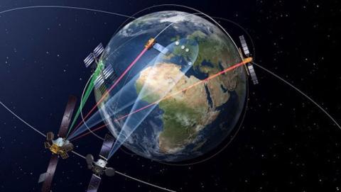Satelite EDRS-A proporcionara conexion de alta velocidad en el espacio