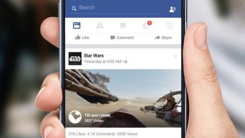 Facebook continúa impulso de vídeos en 2016