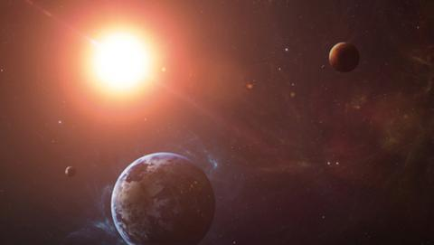 Imagen del sistema solar