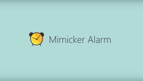 Mimicker, la mejor aplicación de despertador de Android