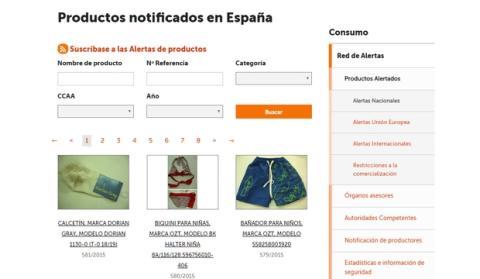 Descubre si un producto que has comprado está prohibido en España