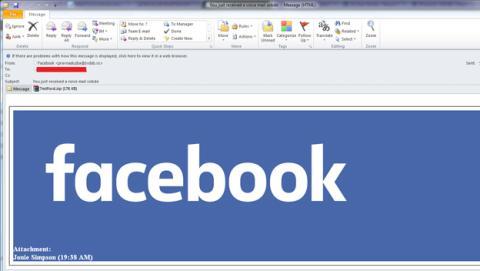 malware Nivdort Facebook