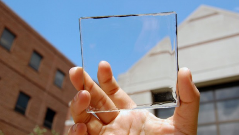 Material para crear ventanas inteligentes baratas
