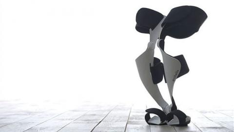 Silla wearable para descansar de pie