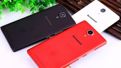 El Lenovo K80M está disponible en tres colores: plata, rojo y negro.