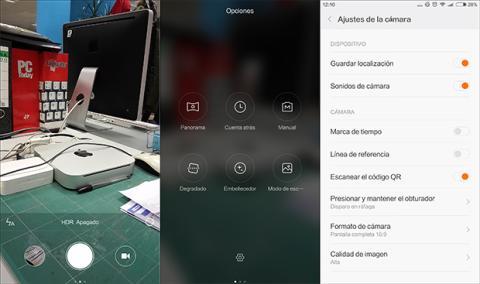 Xiaomi Redmi Note 3 camara