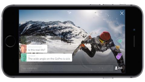GoPro se une a Twitter para livestream vídeos extremos