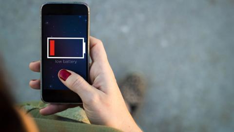 Batería para móviles con cinco veces más de capacidad