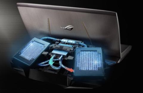 Nuevo ASUS GX700 con sistema de refrigeración