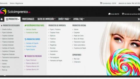 Soloimprenta te ofrece un amplio catálogo de productos y servicios de imprenta, así como de diseño gráfico personalizado