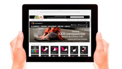 La nueva web de Soloimprenta está especialmente diseñada para ofrecer una buena experiencia tanto desde su versión para ordenadores, como desde tu smartphone o tablet.