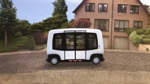 WEpod, el primer autobús autónomo