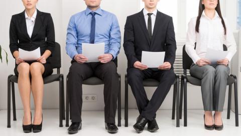 candidatos con currículum vitae