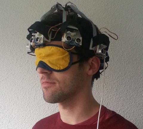 Sombrero para ciegos