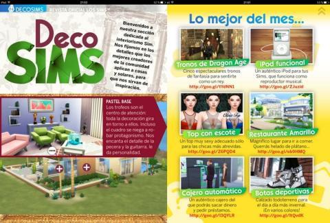 La Revista Oficial de Los Sims número 22 estrena sección