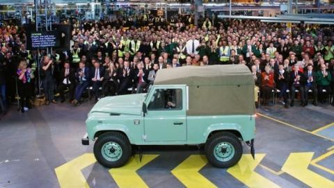 Se fabrica el último Land Rover, 68 años de un mito