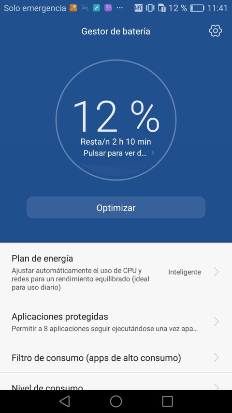 Batería del Huawei Mate 8