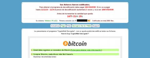 Ransomware, amenaza en Internet